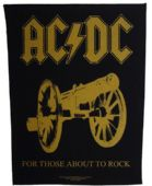 AC/DC - 'For Those About to Rock' Giant Backpatch